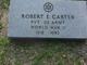 Robert Ernest Carter