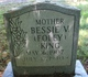 Profile photo:  Bessie V. <I>Foley</I> King