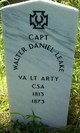 Capt Walter Daniel Leake