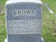 Huriah BROWN