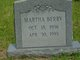 Martha Frances Berry