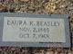 Laura <I>Keene</I> Beasley