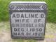 Profile photo:  Adeline Demanault <I>Ewing</I> Douglass