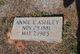 Profile photo:  Annie <I>Ricketts</I> Ashley