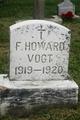 Frederick Howard Vogt