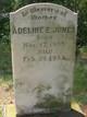 Adeline E. <I>Ross</I> Jones