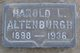Harold L Altenburgh