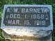Profile photo:  A. W. Barnett