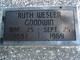 Ruth Rinewalt <I>Wesler</I> Goodwin
