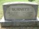 Lucy Bettie <I>Gillaspie</I> Burnett