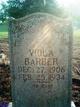 Profile photo:  Viola <I>Peterson</I> Barber