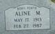 Profile photo:  Aline <I>Portie</I> Akers