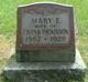 Mary E. Dickinson