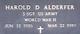 Harold Detweiler Alderfer