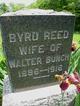 "Bertha ""Byrd"" <I>Reed</I> Bunch"