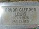 Arvon Glendon Lewis