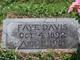 Amanda Faye <I>Ardis</I> Davis