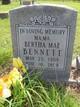 Bertha Mae <I>Grant</I> Bennett
