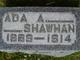 Profile photo:  Ada A <I>Sutton</I> Shawhan