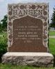 Marie <I>Mikkelsen</I> Hansen