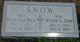 "Wilbur G ""Will"" Snow"