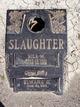 Profile photo:  Bill Wilburn Slaughter