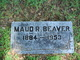 Profile photo:  Maud R <I>Roberts</I> Beaver