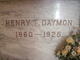 Profile photo:  Henry T Daymon