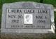 Laura E. <I>Gage</I> Luke