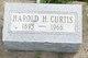Profile photo:  Harold H Curtis