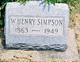 William Henry Simpson