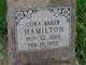 Profile photo:  Cora <I>Baker</I> Hamilton