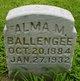 Profile photo:  Alma M Ballengee