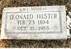 Leonard Hester