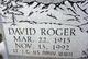 David Roger Peryam