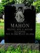 """Suzanne Helen """"Suzie"""" <I>Marotta</I> Mahon"""