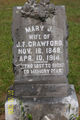 Mary J <I>Owen</I> Crawford