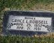 Grace <I>Lye</I> Rowsell