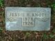 Jessie Herbert Knott, Sr