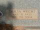 Thalta <I>Wright</I> Broom