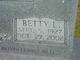Betty Louise <I>Harris</I> Whitt