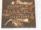 Profile photo:  Albert Francis Parr, Jr