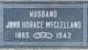 Profile photo:  John Horace McClelland