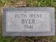 Profile photo:  Ruth Irene Byer