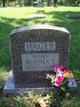 Profile photo:  Bertha T Hager