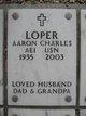 Profile photo:  Aaron Charles Loper, Sr