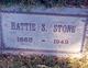 Hattie <I>Sears</I> Stone