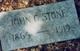 John Gilbert Stone