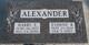 """Garnet Evonne """"Evonne"""" <I>Bennett</I> Alexander"""