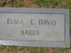 Profile photo:  Eliza E. <I>Davis</I> Baker